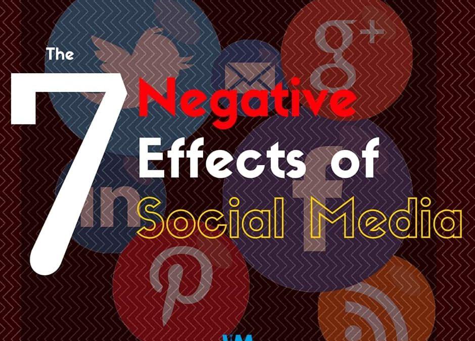 Negative effect of Social Media, 7 negative effects of social media, InsideMan Media, InsideMan Media