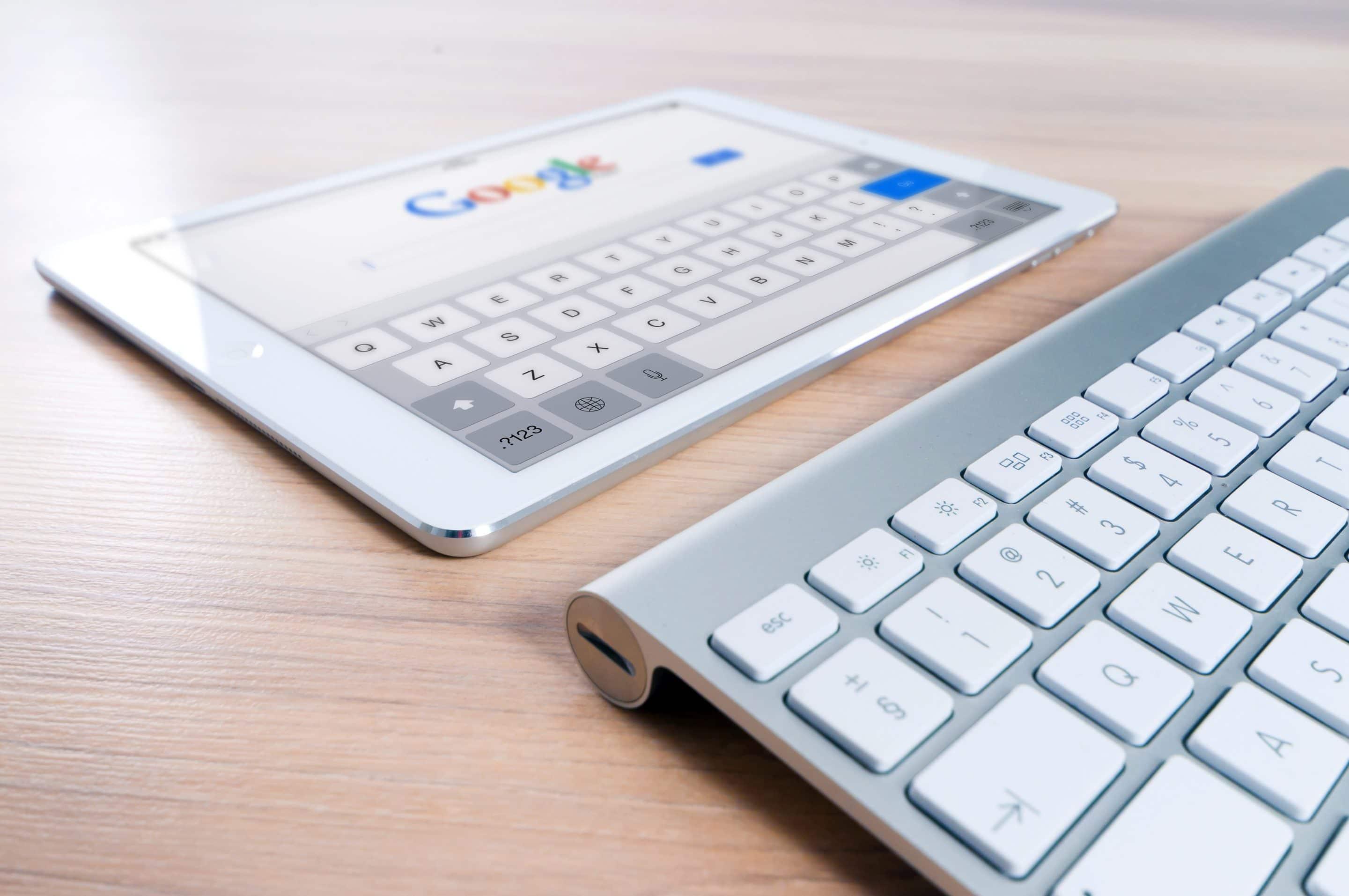 ipad, google, seo